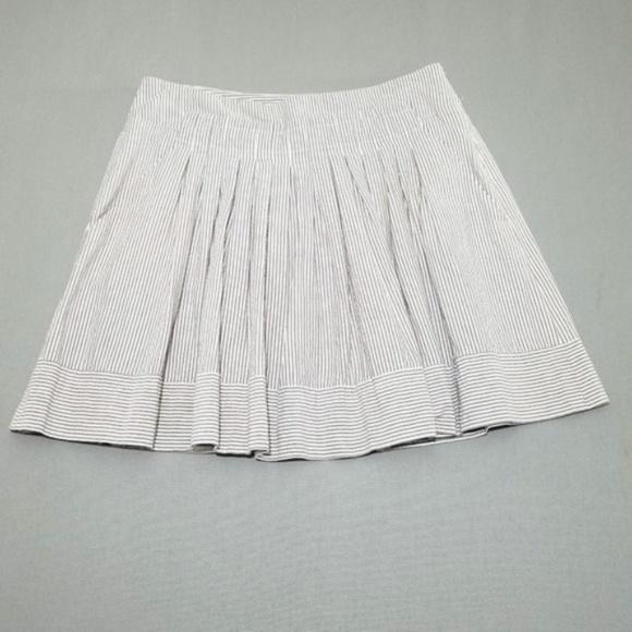 a609823b8811cf Zara Skirts   Striped Pleated Skirt   Poshmark